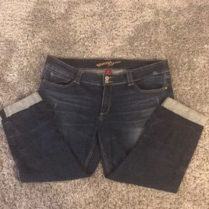 Women's hardly worn Arizona Capri jeans
